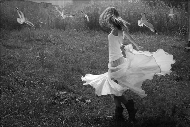 7 chica bailando